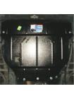 Защита двигателя, КПП, радиатора для авто BYD F6 2011- V 2,0 ( TM Kolchuga ) ZiPoFlex