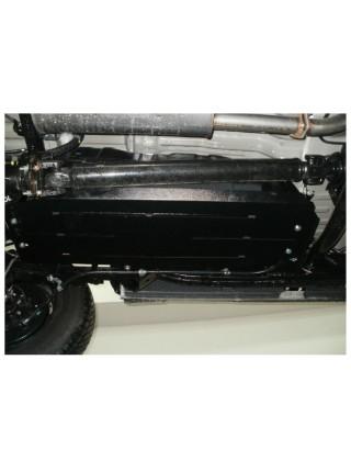 Защита топливный бак для авто Mitsubishi Pajero Sport 2008-2016 V-все ( TM Kolchuga ) ZiPoFlex
