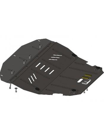 Защита двигателя, КПП, радиатора для авто Fiat Scudo 1995-2007 V-2,0 HDI ( TM Kolchuga ) ZiPoFlex