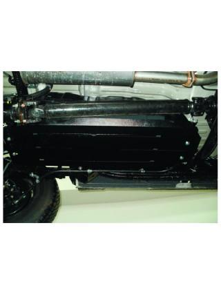 Защита топливный бак для авто Mitsubishi L200 2006-2014 V-все ( TM Kolchuga ) ZiPoFlex