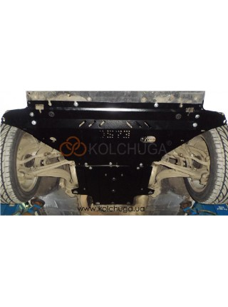 Защита двигателя, КПП, радиатора для авто Audi A5 В8 2007-2011 V-2,0TDI только гидроусилитель ( TM Kolchuga ) ZiPoFlex