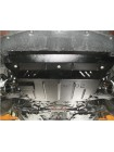 Защита двигателя, КПП, радиатора для авто Mazda 3 2009-2013 V-все ( TM Kolchuga ) ZiPoFlex