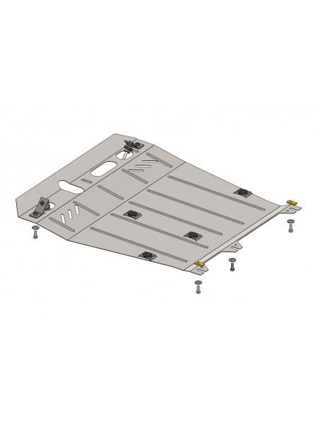 Защита двигателя, КПП, радиатора для авто Citroen C4 Aircross 2012- V-все ( TM Kolchuga ) ZiPoFlex