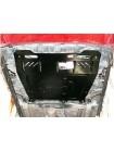 Защита двигателя, КПП, радиатора для авто Mitsubishi Lancer Х 2007- V-все ( TM Kolchuga ) ZiPoFlex