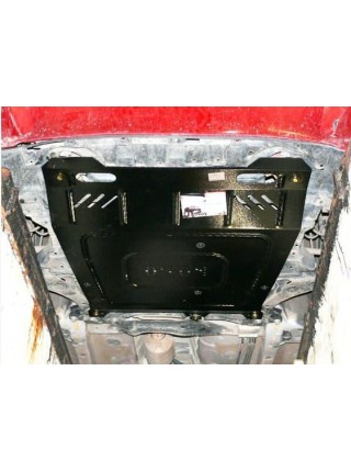 Защита двигателя, КПП, радиатора для авто Mitsubishi Lancer Х 2007- V-все ( TM Kolchuga ) Стандарт