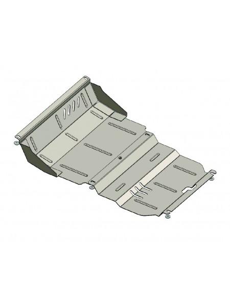 Защита радиатора двигателя для авто Mitsubishi L200 2006-2014 V-все ( TM Kolchuga ) ZiPoFlex