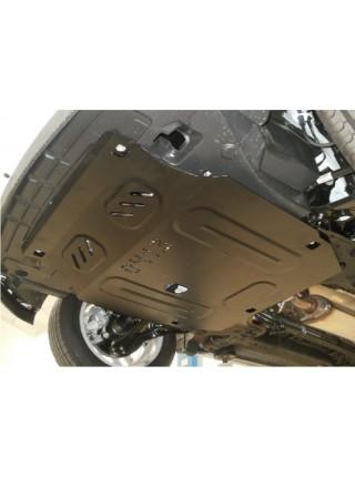 Защита двигателя, КПП, радиатора для авто Chevrolet Aveo 2012- V-все ( TM Kolchuga ) ZiPoFlex