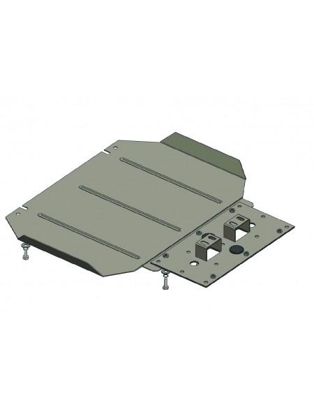 Защита защита МКПП для авто Mitsubishi L200 2006-2014 V-все (МКПП) ( TM Kolchuga ) ZiPoFlex