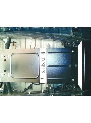 Защита защита раздатки для авто Mitsubishi L200 2006-2014 V-все (МКПП) ( TM Kolchuga ) ZiPoFlex