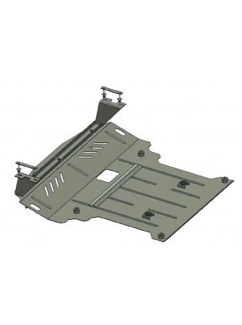 Защита двигателя, КПП, радиатора для авто Volkswagen Crafter 2006-2011 V-все (МКПП vin-WV1ZZZ2EZG6038637  требуется сверление) ( TM Kolchuga ) Стандарт
