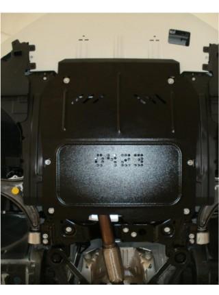 Защита двигателя, КПП, радиатора для авто Chevrolet Malibu 2012-2015 V-все ( TM Kolchuga ) ZiPoFlex