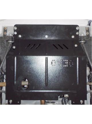 Защита двигателя, КПП, радиатора для авто ВАЗ Granta - 2190 2013- V-все (МКПП, АКПП) ( TM Kolchuga ) Стандарт