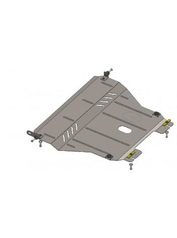 Защита двигателя, КПП, радиатора для авто ЗАЗ Vida 2012- V-все кроме (авто з китайским двигателем) ( TM Kolchuga ) ZiPoFlex