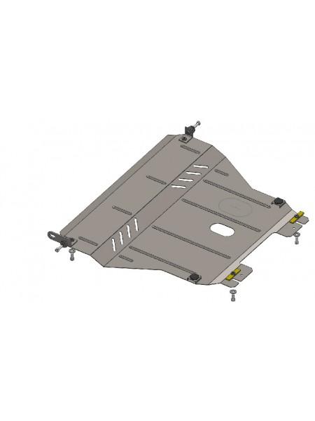 Защита двигателя, КПП, радиатора для авто Chevrolet Aveo 2002-2012 V-все ( TM Kolchuga ) ZiPoFlex