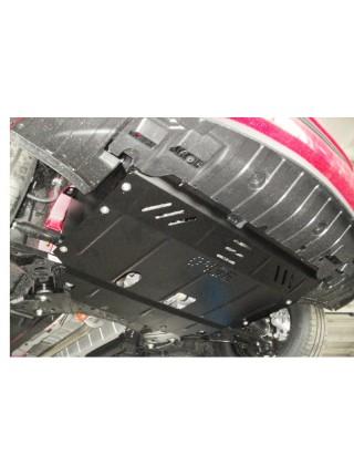 Защита двигателя, КПП, частично радиатора для авто Kia Ceed 2012-2015 V-все МКПП АКПП только дизель ( TM Kolchuga ) ZiPoFlex