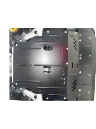 Защита двигателя, КПП, радиатора для авто Hyundai I-40 2011- V-2,0 МКПП АКПП бензин ( TM Kolchuga ) ZiPoFlex