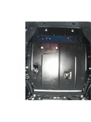 Защита двигателя, КПП, радиатора для авто Mitsubishi Outlander 2012-2015 V-2,0; 2,4; 2,2D; (вариатор) ( TM Kolchuga ) ZiPoFlex