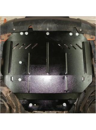 Защита двигателя, КПП, радиатора для авто Citroen Berlingo I 2004-2008 V-1,6 HDI ( TM Kolchuga ) ZiPoFlex