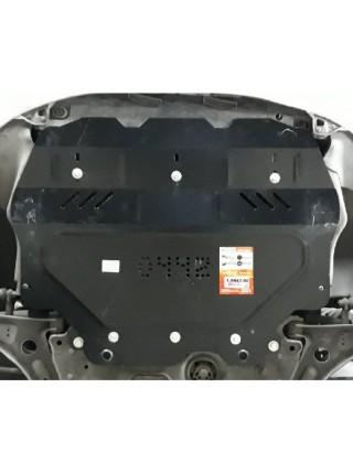 Защита двигателя, КПП, радиатора для авто Skoda Octavia II A5 WeBasto 2004- V- ( TM Kolchuga ) ZiPoFlex
