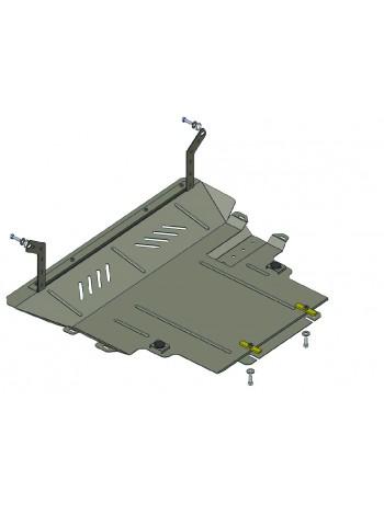 Защита двигателя, КПП, радиатора для авто Mazda 5 2005-2010 V-1.8; 2.0 (АКПП, МКПП) ( TM Kolchuga ) Стандарт