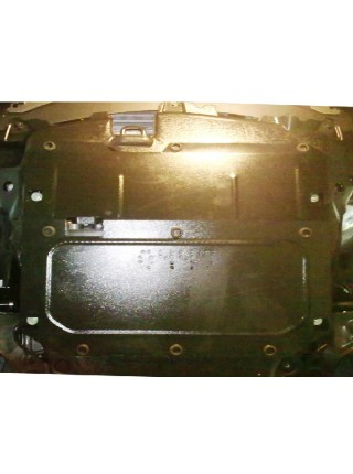 Защита двигателя КПП раздат. коробки для авто Opel Antara 2011- V-2,2 D ( TM Kolchuga ) ZiPoFlex