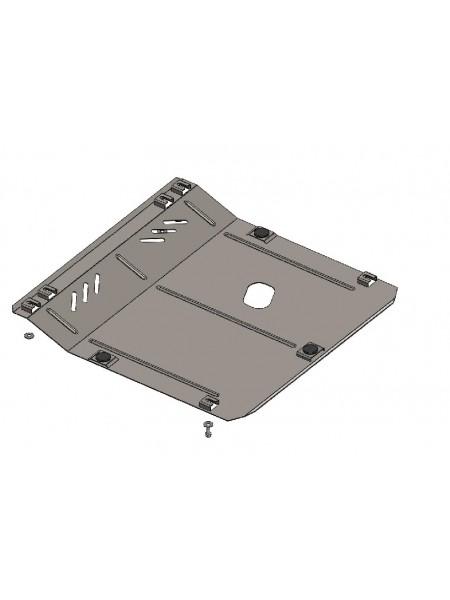Защита двигателя, КПП, радиатора для авто Opel Mokka 2012- V-1,4i ( TM Kolchuga ) ZiPoFlex