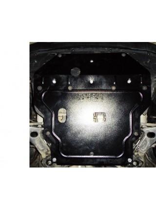 Защита двигателя, КПП, радиатора для авто Hyundai Tucson IX35 2011- V-2,4 (Арабский и Корейский рынок) ( TM Kolchuga ) ZiPoFlex