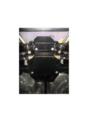 Защита защита редуктора заднего моста для авто Ford Kuga защита редуктора заднего моста 2008-2013 V-2,0 TD; 2,5 TDI; (защита редуктора заднего моста) ( TM Kolchuga ) ZiPoFlex