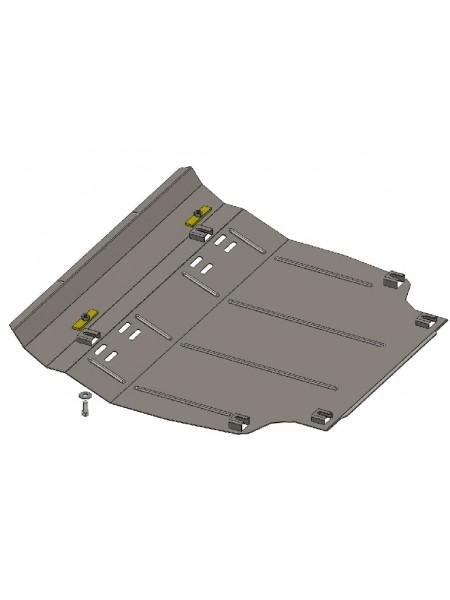 Защита двигателя, КПП, радиатора для авто Toyota RAV 4 III 2005-2012 V-2,2 D ( TM Kolchuga ) Стандарт