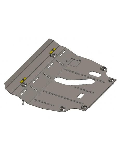 Защита двигателя, КПП для авто Toyota RAV 4 IV 2013-2018 V-2,5 i ( TM Kolchuga ) ZiPoFlex