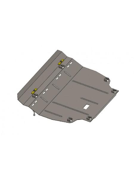 Защита двигателя, КПП для авто Toyota RAV 4 IV 2013-2018 V-2,0і; 2,2 D ( TM Kolchuga ) ZiPoFlex