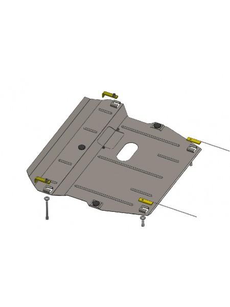 Защита двигателя, КПП, радиатора для авто Great Wall Voleex C 50 2013- V-1,5 T (МКПП) ( TM Kolchuga ) ZiPoFlex