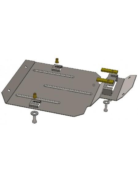 Защита защита редуктора заднего моста для авто Ford Escape 2012- V-все ( TM Kolchuga ) ZiPoFlex