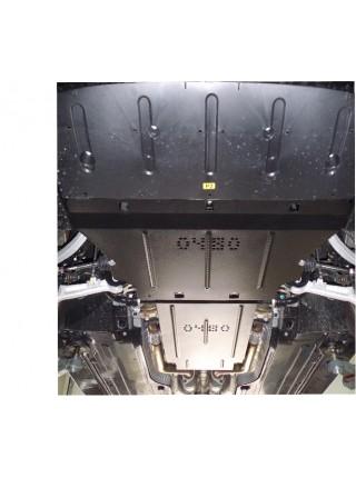 Защита двигателя и КПП для авто Hyundai Equus 2013- V-4,6 i АКПП ( TM Kolchuga ) ZiPoFlex