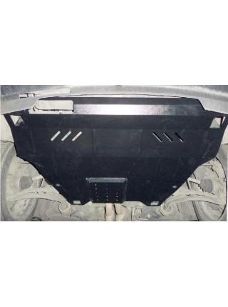 Защита двигателя, КПП, радиатора для авто Ford Explorer EcoBoost 2012- V-3,5; 3,5i; (АКПП) ( TM Kolchuga ) ZiPoFlex