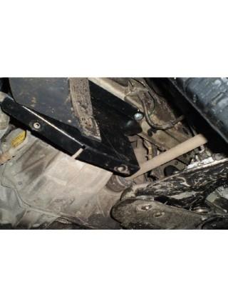 Защита двигателя, КПП, радиатора для авто Renault Trafic 2001- V-2,0 D ( TM Kolchuga ) ZiPoFlex