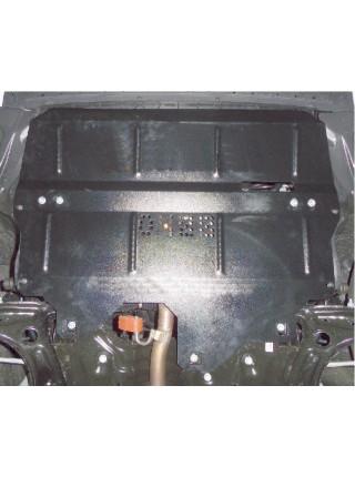 Защита двигателя, КПП, радиатора для авто Skoda Rapid 2012-2016- V-все ( TM Kolchuga ) ZiPoFlex
