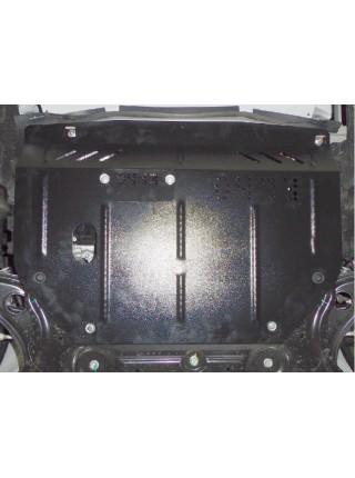 Защита двигателя, КПП, радиатора для авто Nissan Note 2012- V-1,2; 1,5DCI; ( TM Kolchuga ) ZiPoFlex