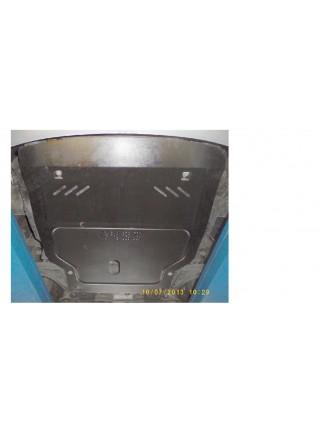Защита двигателя, КПП, радиатора для авто Daewoo Nubira IIи J200 2003-2004 V-все ( TM Kolchuga ) ZiPoFlex
