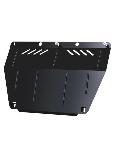 Защита двигателя, КПП, радиатора для авто Fiat 500 L 2013- V-1,4; 1,3 D; ( TM Kolchuga ) ZiPoFlex