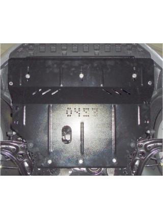 Защита двигателя, КПП, радиатора для авто Skoda Octavia III A7 2013- V-все ( TM Kolchuga ) ZiPoFlex