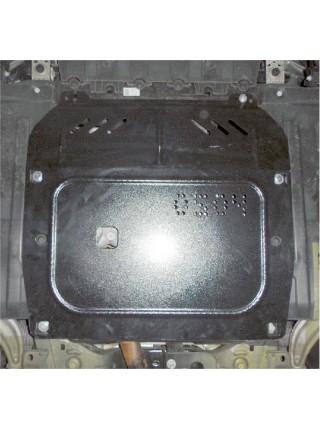 Защита двигателя, КПП, радиатора для авто Opel Astra J 2009- V-все ( TM Kolchuga ) ZiPoFlex