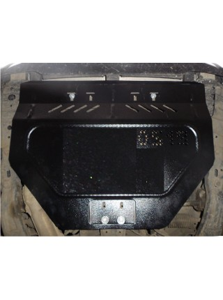 Защита двигателя, КПП, радиатора, редуктора заднего моста для авто Subaru Forester 2002-2008 V-все ( TM Kolchuga ) Стандарт
