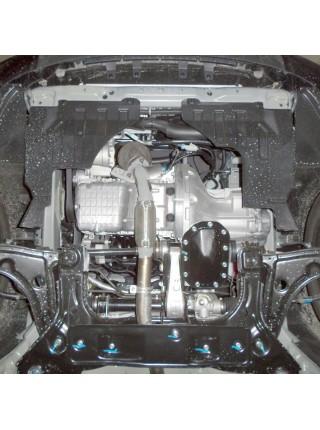 Защита двигателя, КПП, радиатора для авто Daewoo Gentra 2013- V-1.5 (МКПП) ( TM Kolchuga ) ZiPoFlex