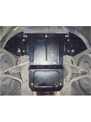Защита двигателя, КПП, радиатора для авто Audi A8 2002-2010 V-3,0 TDI (АКПП) ( TM Kolchuga ) ZiPoFlex