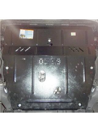 Защита двигателя, КПП, радиатора для авто Volvo V70 2007-2016 V-2,0TDI 2,5Т ( TM Kolchuga ) ZiPoFlex