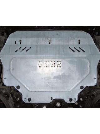 Защита двигателя, КПП, радиатора для авто Volkswagen Beetle 2011- V-все ( TM Kolchuga ) Стандарт