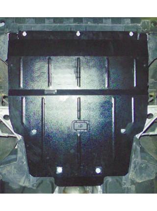 Защита двигателя, КПП, радиатора для авто Mercedes-Benz CLA 200 C117 2013- V-1,6; 2,0; 1,8 СDI (АКПП) ( TM Kolchuga ) Стандарт