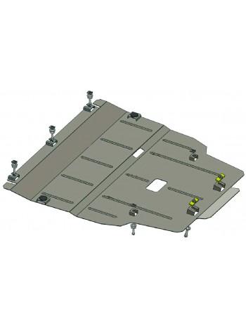 Защита двигателя, КПП, радиатора для авто Mercedes-Benz CLA 200 C117 2013- V-1,6; 2,0; 1,8 СDI; (АКПП) ( TM Kolchuga ) ZiPoFlex