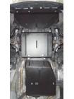 Защита двигателя, КПП, раздатка для авто Dodge Durango 2010- V-3,6 АКПП ( TM Kolchuga ) ZiPoFlex